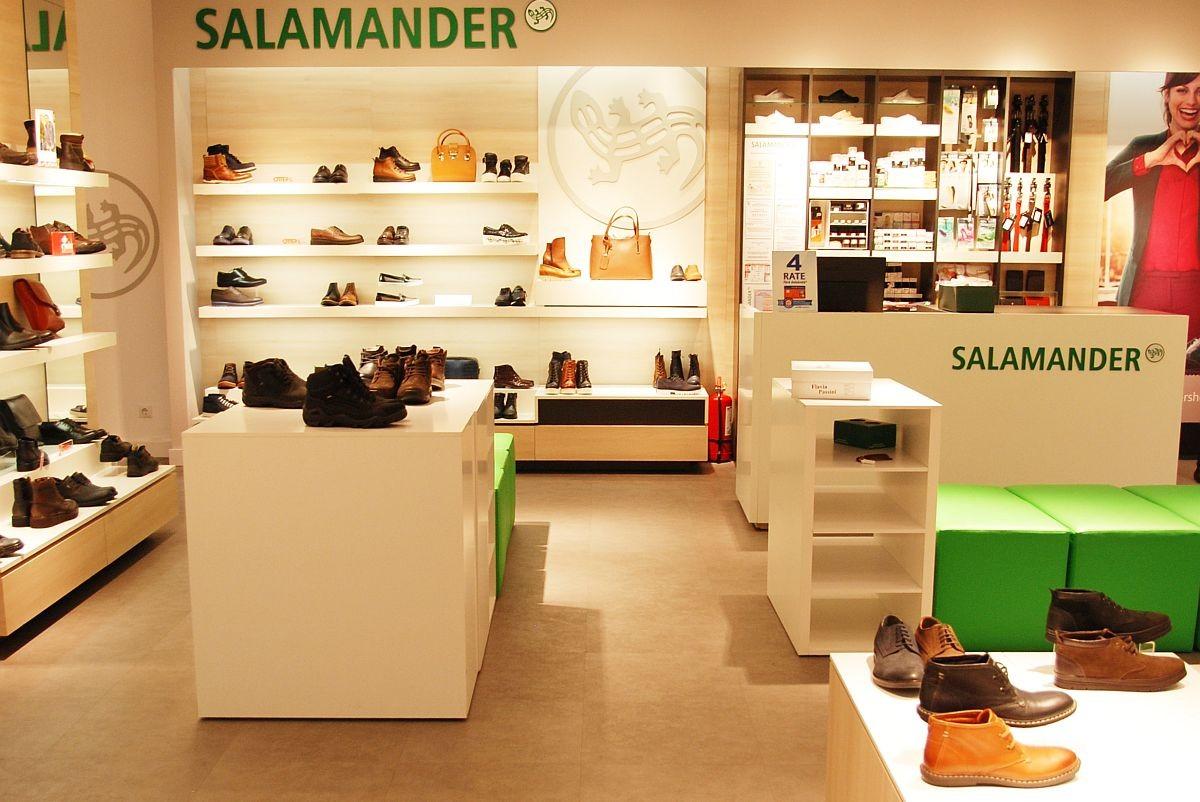 Magazine Salamander, Aldo, Clarks, grupul Otter