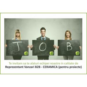 Reprezentant vanzari B2B- Ceramica (pentru proiecte)