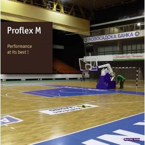 Parchet stratificat Reflex M pt baschet si sali de sport