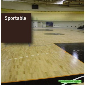 Parchet stratificat Sportable pt baschet si sali de sport