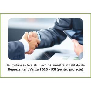 Reprezentant Vanzari B2B - USI (pentru proiecte)